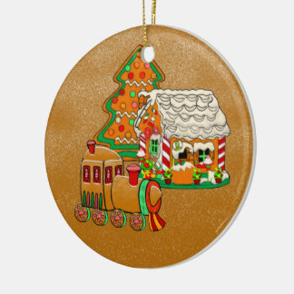 Ginger Town Christmas Ornament