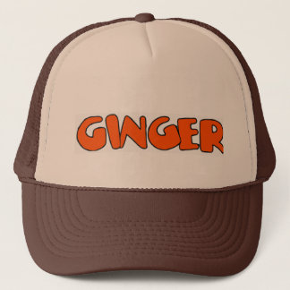 Ginger Trucker Hat