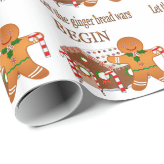 Ginger Wars Wrapping Paper