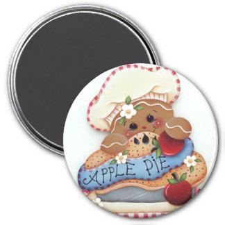 Gingerbread Baker Apple Pie Magnet