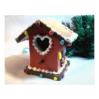 Gingerbread Birdhouse I Full Colour Flyer
