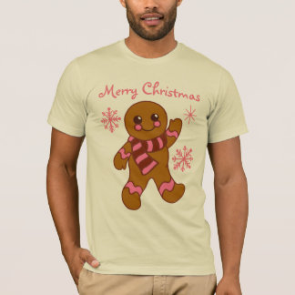 Gingerbread Boy Christmas T-Shirt