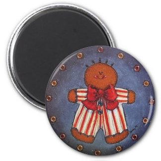 Gingerbread Boy Magnet