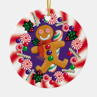GINGERBREAD-CANDY ORNAMENT