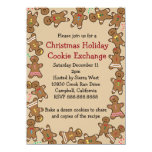 Gingerbread Christmas Holiday Cookie Exchange