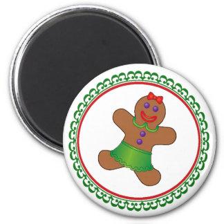 Gingerbread Christmas Magnet
