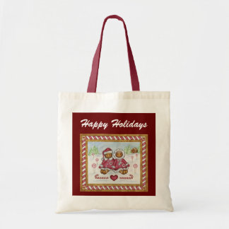 Gingerbread Christmas Tote Bag