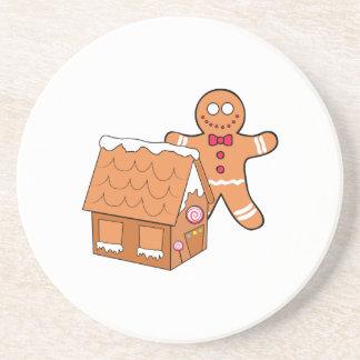 Gingerbread Beverage Coaster