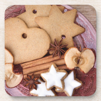 Gingerbread Coasters