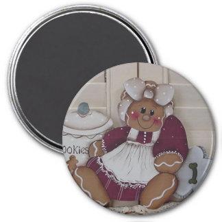 Gingerbread Cookie Baker 2 Magnet