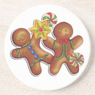 Gingerbread Cookie Coaster
