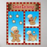 Gingerbread Cookie Exchange Poster