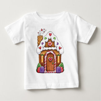 Gingerbread Cookie House Baby T-Shirt