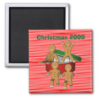 Gingerbread Cookie Men Christmas Holiday Funny Magnet