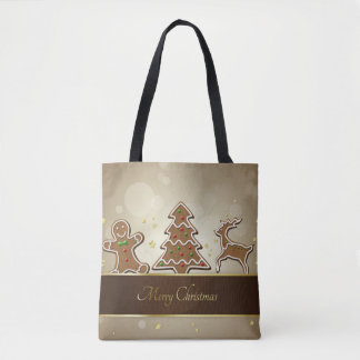 Gingerbread Cookies - All-Over-Print Tote Bag