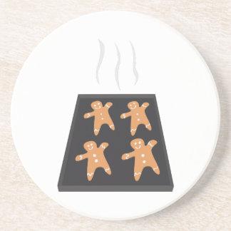 Gingerbread Cookies Drink Coaster