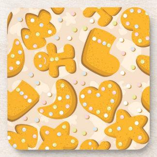 Gingerbread cookies coaster