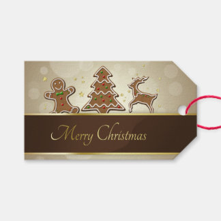 Gingerbread Cookies - Gift Tag