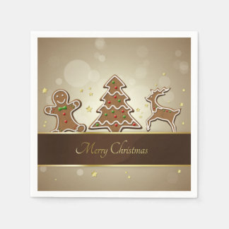 Gingerbread Cookies - Paper Napkin