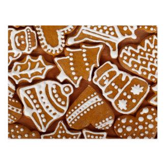 Gingerbread Cookies postcard