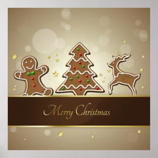 Gingerbread Cookies - Poster