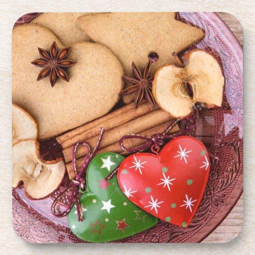 Gingerbread Beverage Coasters