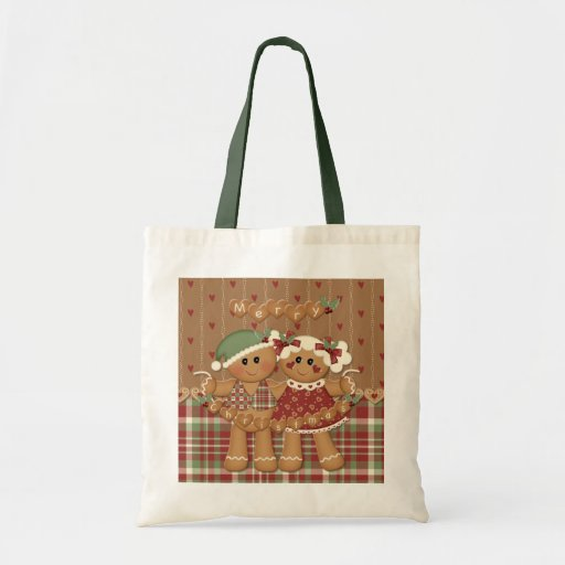 Gingerbread Country Christmas Bags