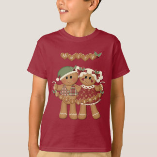 Gingerbread Country Christmas T-Shirt