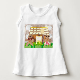 Gingerbread Couple Baby Dress