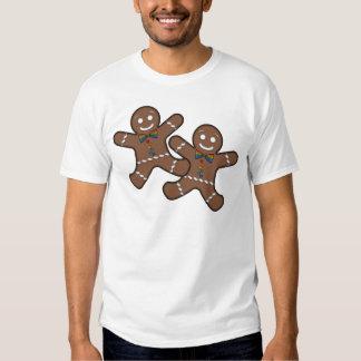Gingerbread Couple Gay Pride Shirts
