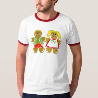Gingerbread Couple - Mens & Youth Tshirt