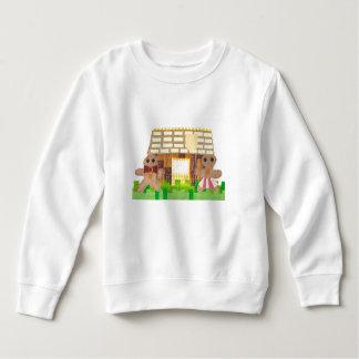 Gingerbread Couple No Background Toddler Jumper Sweatshirt