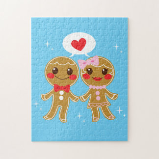 Gingerbread Couple Jigsaw Puzzles