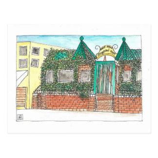 Gingerbread Court Postcard