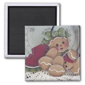 Gingerbread Cutie Kitchen Magnet