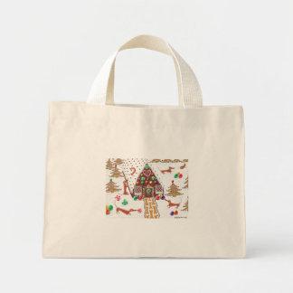 Gingerbread Dachshund Bag