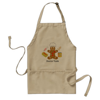 Gingerbread Doctor Tools of the Trade Standard Apron