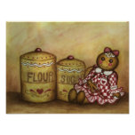 Gingerbread Doll Poster