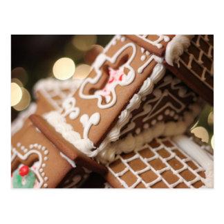 Gingerbread Dreams Postcard