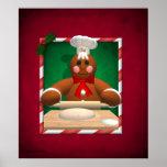 Gingerbread Family: Baker Fun Poster