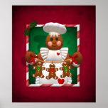 Gingerbread Family: Bakery Girl Poster