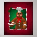 Gingerbread Family: Little Baker Poster