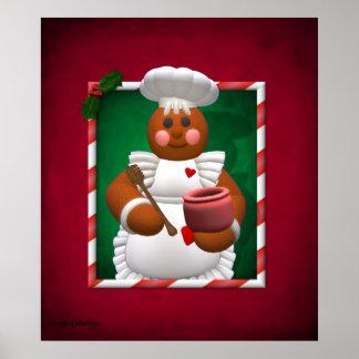 Gingerbread Family: Little Bakery Girl Poster