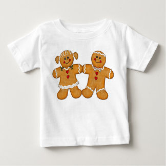 Gingerbread Fun Couple Baby T-Shirt