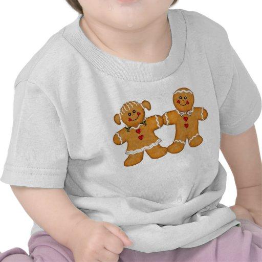 Gingerbread Fun Couple Shirts