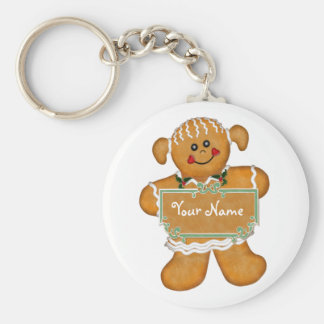 Gingerbread Fun Keychains