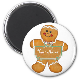 Gingerbread Fun Magnets
