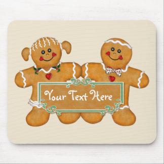Gingerbread Fun Mouse Mat