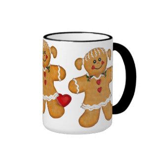 Gingerbread Fun - Woman Coffee Mug