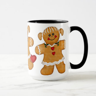 Gingerbread Fun - Woman Mug